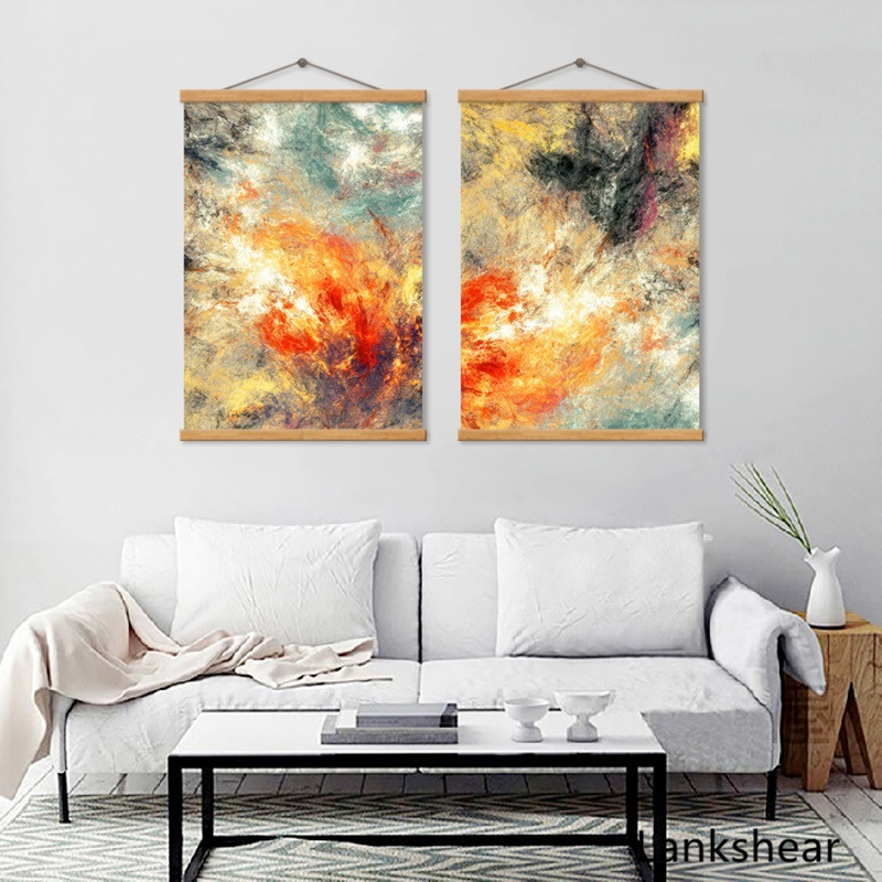 Nordic Canvas Modern Abstract Line Posters And Print Decorative Painting Modular Pictures Wall Art Home Decor For Living Room in Painting Calligraphy from Home Garden