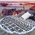 Ronda de Diseño 2016 Venta Caliente Bufanda Mujeres Beach Cover Up Playa Tiro Tapiz Hippie Hippie Mandala Roundie Toalla Estera Bohemio