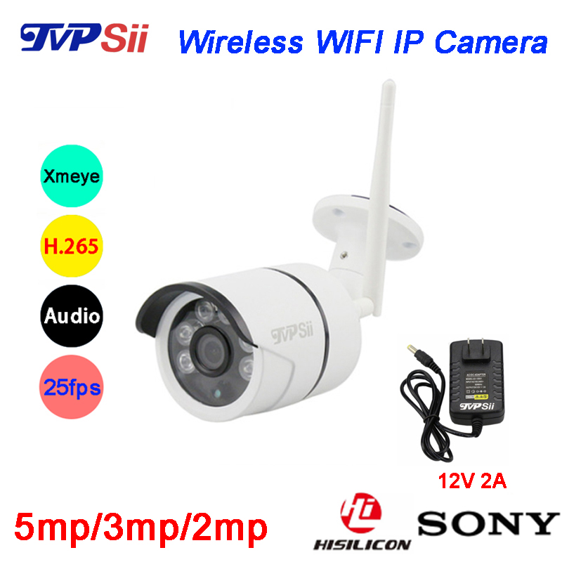 Six Array Leds 5MP/3MP/2MP H.265 Icsee 25fps 128G ONVIF Audio Waterproof WIFI Wireless IP Security CCTV Camera Free Shipping