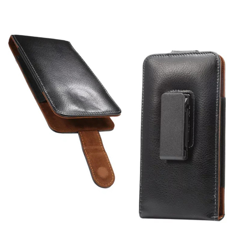 Rotary Holster Belt Cllip Second Layer Genuine Leather Pouch Case For Motorola One Power Moto Z Z2 Z3 G7 E5 E6 G6 G6 Play X4 X5