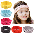 New Fashion Solid Hairband Colorful Infant Girls Hairbands Turban Knot Headband Baby Hair Accesories Baby Clothing Free Shipping