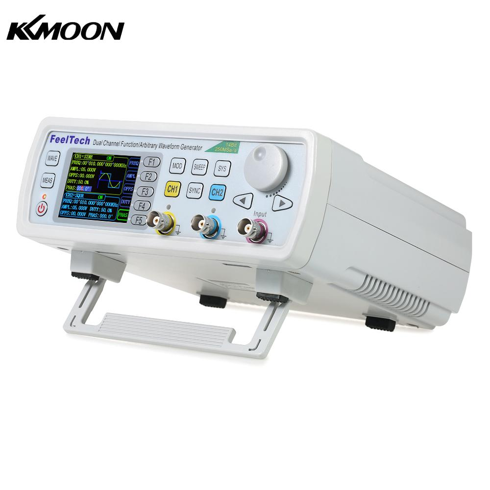 KKmoon FY6600-30M FY6600 Series 30MHZ Digital Control Dual-channel DDS Function Signal Generator frequency meter Arbitrary 3225 osc 3 2 2 5mm 30m 30mhz 30 000mhz