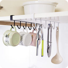 Multifunction Cupboard Hanging Hook Storage Holders Racks Household Kitchen Hanger Bathroom Sundries Shelve Accessories Products(China)