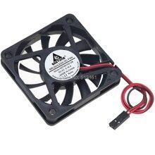 1 Piece Gdstime Brushless Dupont Connector 2-Pin 6cm 60mm x 10mm 6010s DC 5V Cooling Fan