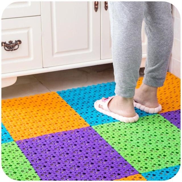 Sching Hall Kitchen Bathroom Toilet Mat Bath Rug Creative Door Mats Waterproof Doormat