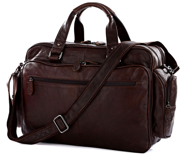 Fashion Oil Waxed Genuine Leather Briefcase Men Business Briefcase Leather tote Handbag men Laptop Bag Large