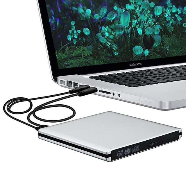 246f50a3b94bac placeholder Ultra Slim External USB 3.0 High Speed CD-RW DVD-RW Super Drive  Player