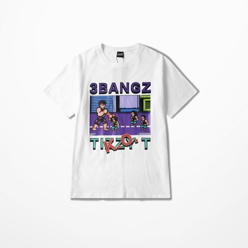 3bangz Tizzyt Game Summer Cotton Funny T Shirts High Street Skateboard Men T Shirt Hip Hop Fashion Design Harajuku Top Tee