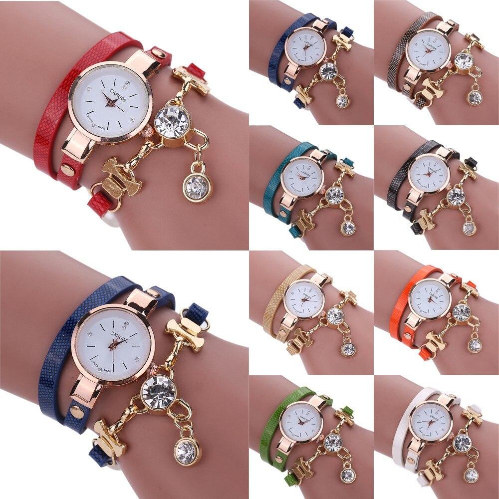 2018 Femmes Bijoux De Mode Montre En Cuir Bande Dames Élégant Concise Business Casual montre-Bracelet