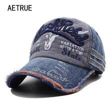 70b925f35ee AETRUE Brand Men Baseball Caps Dad Casquette Women Snapback Caps Bone Hats  For Men Fashion Vintage Hat Gorras Letter Cotton Cap