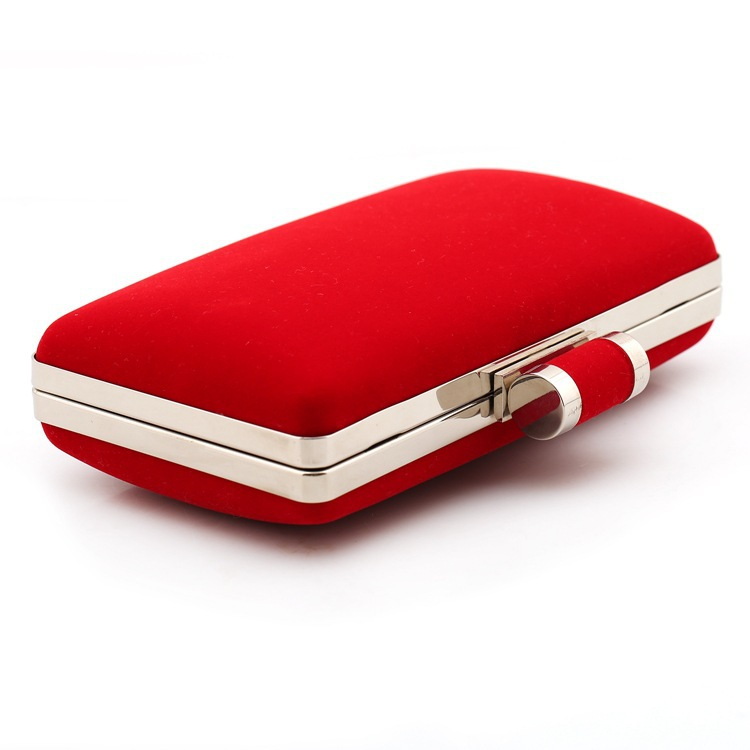 DHL Free Shipping Wedding Clutch Bag Red Black Desiger Hard Case ...