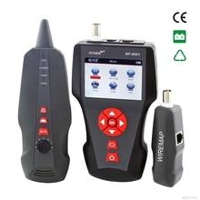 Orijinal Noyafa multi-fonksiyonel Ağ Kablo Test Cihazı LCD Kablo uzunluğu Test Kesme Cihazı İngilizce sürüm NF-8601 freeship