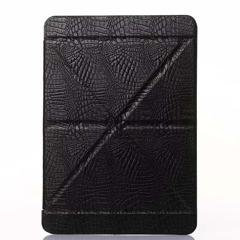 Top Design Slim crocodile leather smart case for ipad pro 9.7