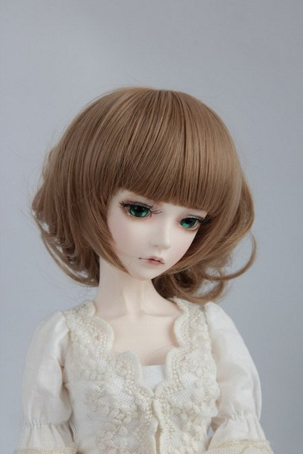 doll wig for BJD/SD 1/3 1/4 1/6 Scale BJD wig.variety of colors .A15A1046.only sell wig.Not included doll clothes accessories