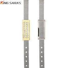 USB Flash Drive 32gb 128gb 16gb 4gb Jewelry pen drive 8gb Crystal Metal stick 64gb Bracelet pendrive gift Free Shipping