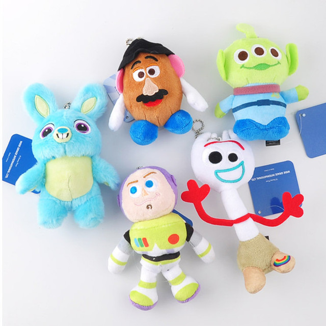 Игрушка из фильма Story 4 плюшевая игрушка Forky Bunny Alien Buzz Lightyear Мягкая кукла игрушка с биркой