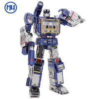 2018 MU 3D Metal Puzzle Finger toy TF robot model DIY Laser Cut Jigsaw Model For Adult kids Educational Toys Desktop decoration