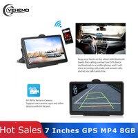 7 Inches Multifunctional Car Navigator Electronic Album Sensors GPS Navigator Portable Photography Vehicle Navigation