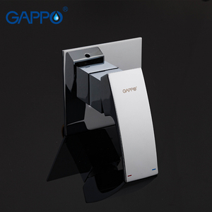 Image 3 - Gappo bidet faucet Bathroom bidet shower set Shower faucet toilet bidet muslim shower Brass wall mounted washer tap mixer G7207