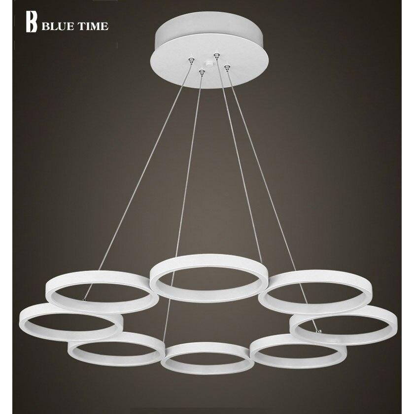 Modern LED Crystal Chandelier Lights Lamp For Living Room Light Ceiling Fixture Indoor Pendant Lamp Home