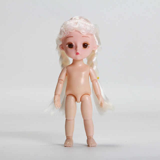 15 см Bjd кукла для тела, шарнирная Детская кукла, игрушка, оригинальная для девочек, принцесса, прекрасная кукла, рождественский подарок, детские игрушки для девочек, детские игрушки, силикон