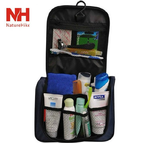 Free Shipping Men Women s Waterproof Nylon Wash Kit Toiletry Bags Cosmetic  Organizer Makeup Case for Travel Camping B221 9ce3bd87b3b4b