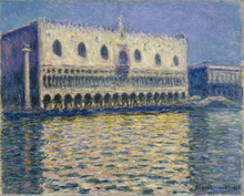 Wall Painting Claude Monet  The Palazzo Ducale I High Quality Arts For Home Decoration Gift Oil canvas Reproduction