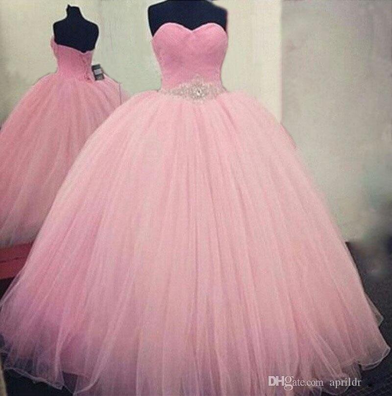 Balón vestido de Novia Vestidos de Noche Largo Rosa Indio Vestido de ...