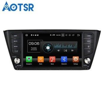 Aotsr Android8.0/7.1 GPS navigation Car NO DVD Player For Skoda Fabia 2015-2017 multimedia radio recorder 2DIN4GB+32GB 2GB+16GB