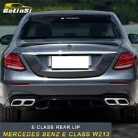 GELINSI для Mercedes Benz E Class W213 авто сзади губ заднего бампера защиты аксессуары