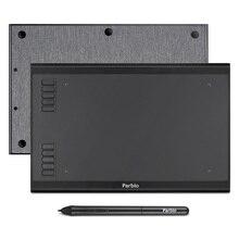 الأصلي Parblo A610S/A610 زائد جهاز كمبيوتر لوحي للرسومات 8192 مستويات لوح رسم رقمي بطارية خالية من القلم أقراص ويندوز وماك