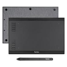 Parblo tableta gráfica A610S/A610 Plus, Tablet de dibujo Digital de 8192 niveles, bolígrafo sin batería, para Windows y Mac