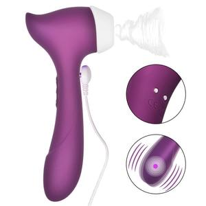 Image 1 - Potente Vibratore Clitoride Impermeabile del Punto di G Tettarelle da biberon Clitoride Stimolatore Clitoride di Aspirazione Clitoride Sucker Donna Del Sesso Negozio