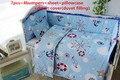 Promoción! 6 / 7 unids cuna juego de cama cuna cuna cuna del lecho cunas cuna Set funda nórdica, 120 * 60 / 120 * 70 cm