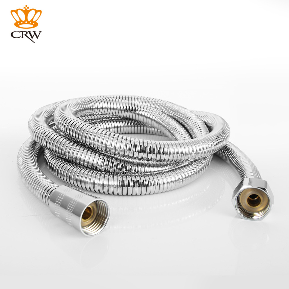 Crw Bathroom Product 2m Dense Structure Stainless Steel Shower Hose Replacement Flexible Handheld Shower Hose Pipe 200cm Length Handheld Shower Hose Stainless Steel Shower Hoseshower Hose Aliexpress
