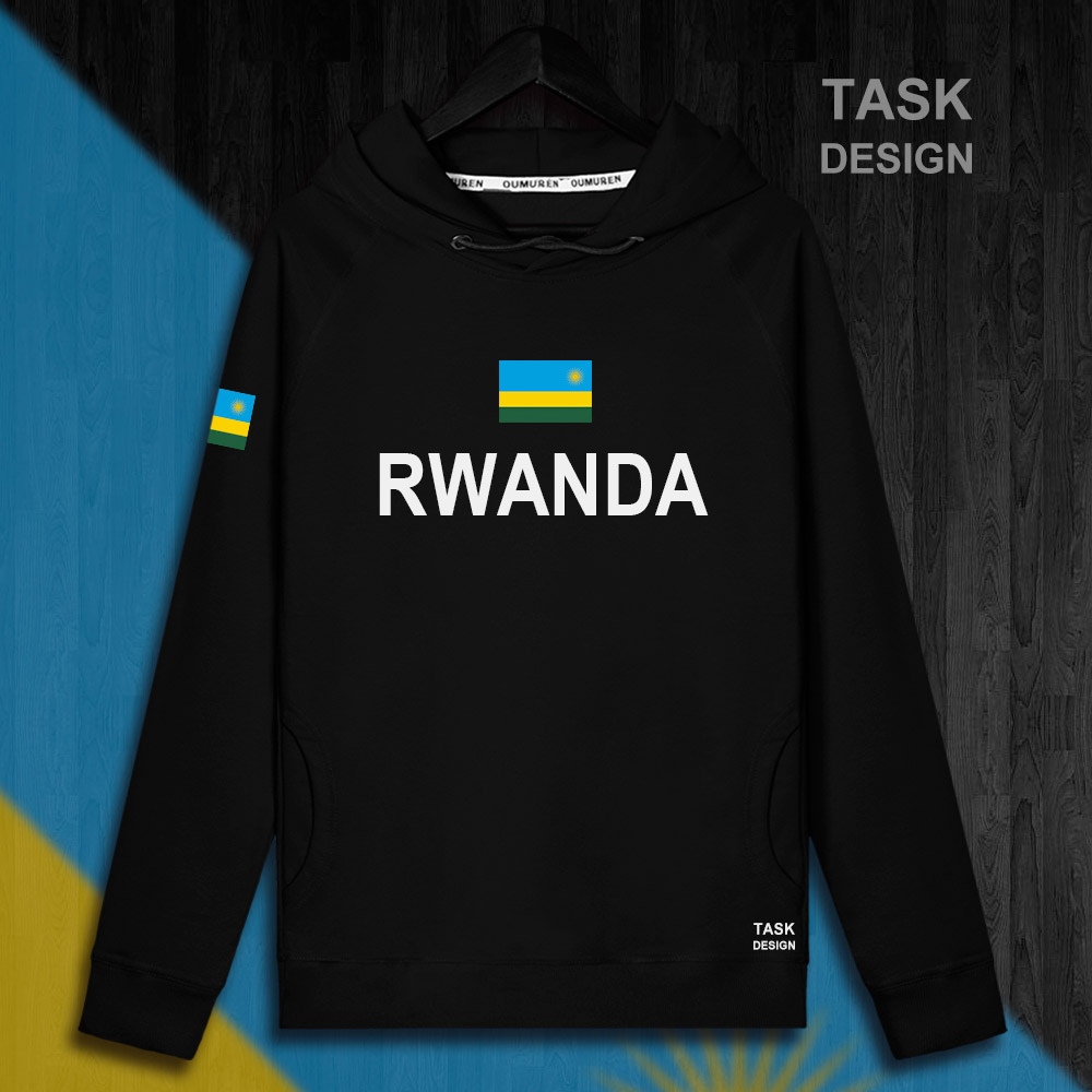 Rwanda Rwandan Rwandese RWA RW mens hoodie pullovers hoodies men sweatshirt new streetwear clothing Sportswear tracksuit nation