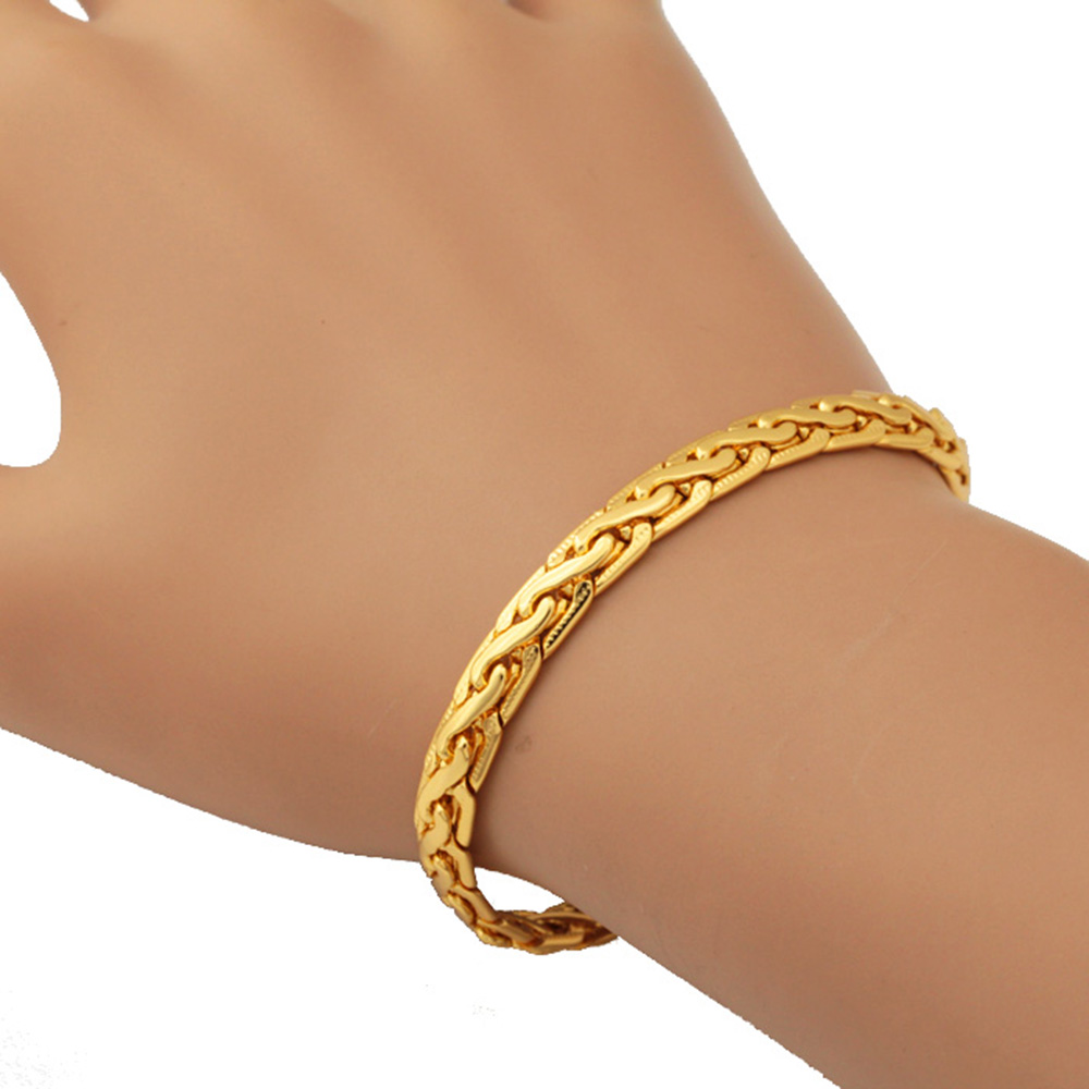 Aliexpresscom Buy Bracelet Bracelets Men High Quality Gold color