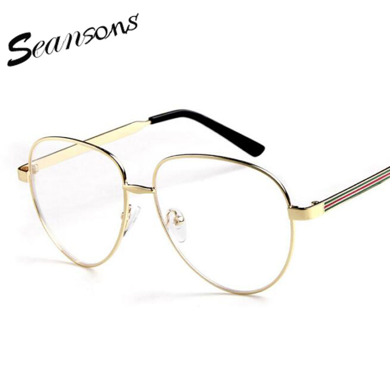 2017 fashion mens aviator clear glasses frames vintage optical aviator clear eyeglasses frames womenchina