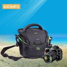 SOMITA 2017 New Brand Professional DSLR camera Bag Casual Shoulder Bags Outdoor Travel Hot Sale High Quality Video Bag TR18