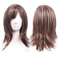 Womens Night Club Straight Hair Cosplay Party Full Wigs