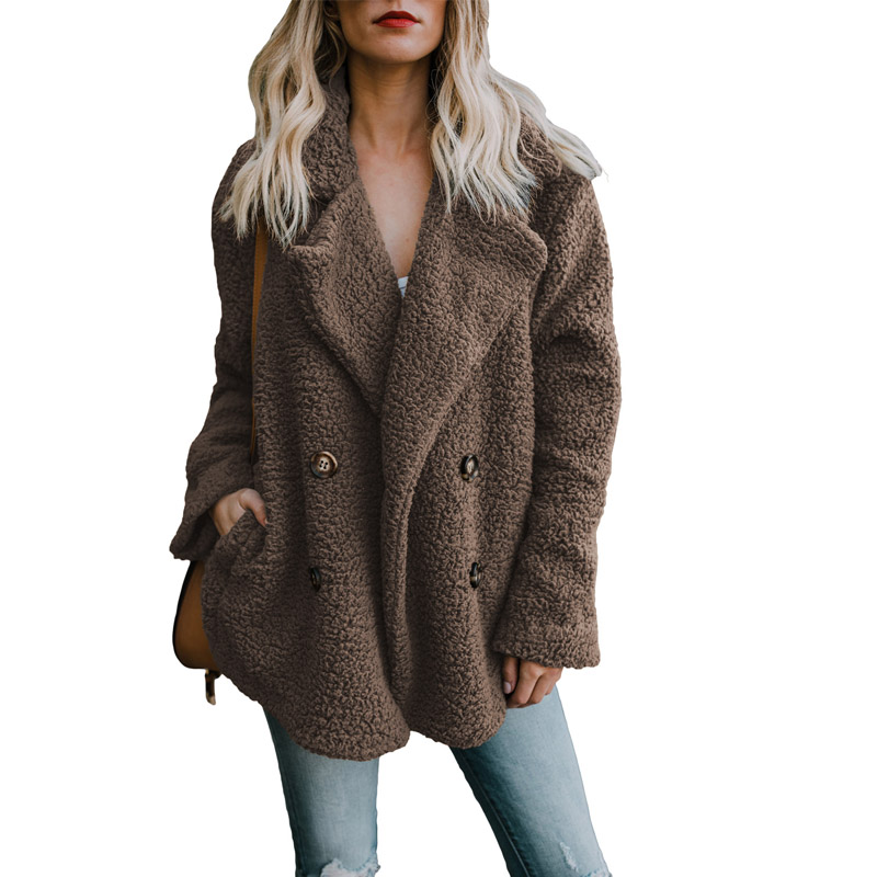 Solide khaki Mujer 2018 Femme Et Cazadoras Gray Hiver gray Manches Ouvrir Casual army 100 Liva powder Polyester Pleine Green Lc85138 Manteau Point Fille Brown sapphire dark Automne IfYxSS