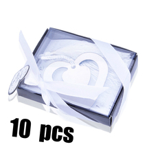 10PCS Bulk My Heart Bookmark For Party Boy Girl Baby Shower Souvenirs Graduation  Baptism Wedding Favour And Gifts Guest