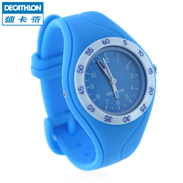 580a825d7c6 Decathlon Child Watches Sports Boys And Girls Pointer Cartoon Color  Waterproof GEONAUTE