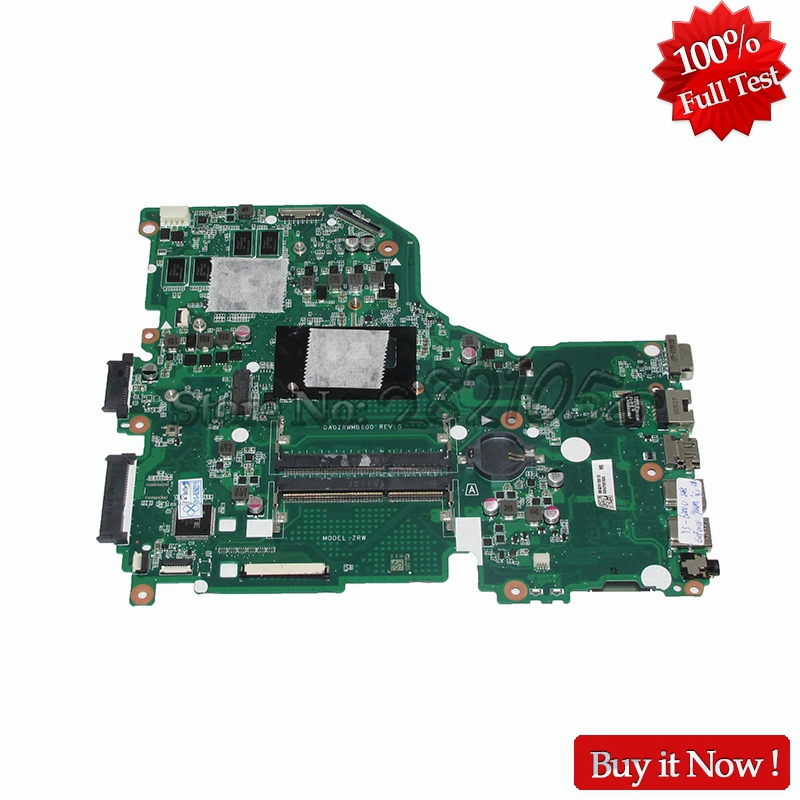 NOKOTION DA0ZRTMB6D0 Mainboard For Acer Aspire E5-573G Laptop Motherboard with 940M Video card I5 CPU DDR3L nokotion laptop motherboard for acer aspire 5551 nv53 mbbl002001 mb bl002 001 mainboard tarjeta madre la 5912p mother board