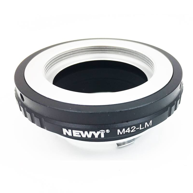 Newyi M42 Lm Adapter For M42 Lens To L eica M Lm Camera M9 With for Techart Lm Ea7 Camera Lens Ring Accessories-in Lens Adapter from Consumer Electronics