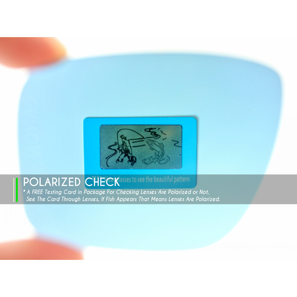 c9e5946f83 Mryok Anti Scratch POLARIZED Replacement Lenses for Oakley Batwolf Sunglasses  Lens Multiple Options-in Men's Sunglasses from Apparel Accessories on ...