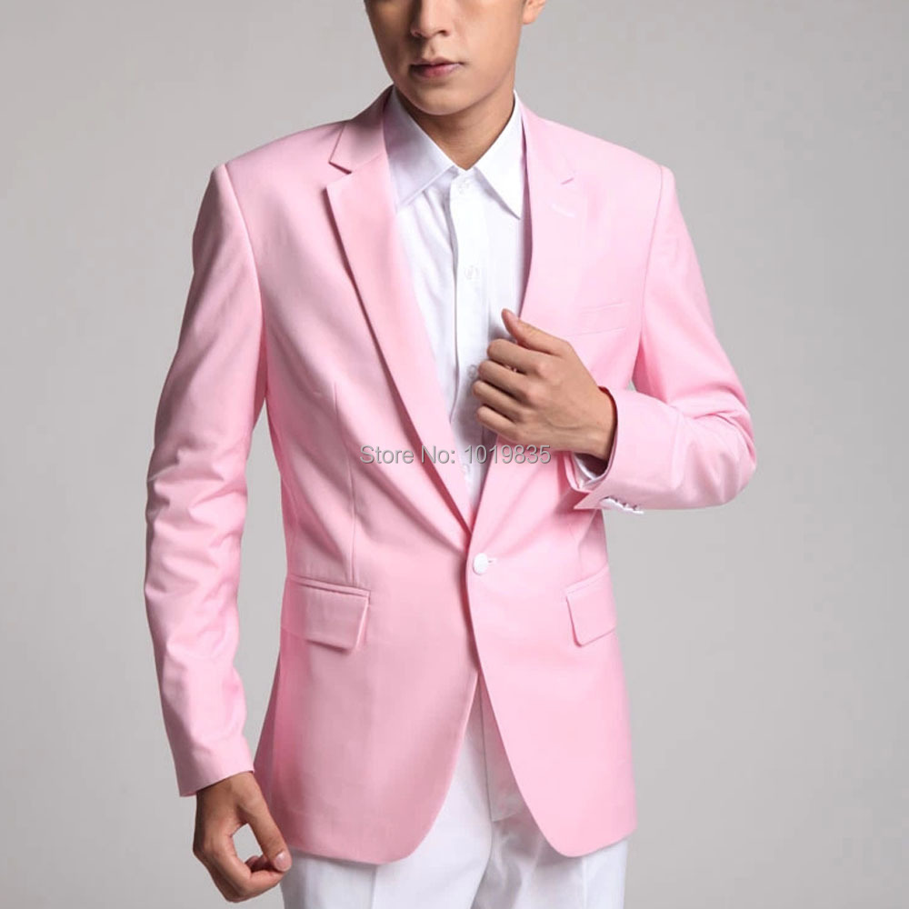 Pink Coat For Men - Coat Nj