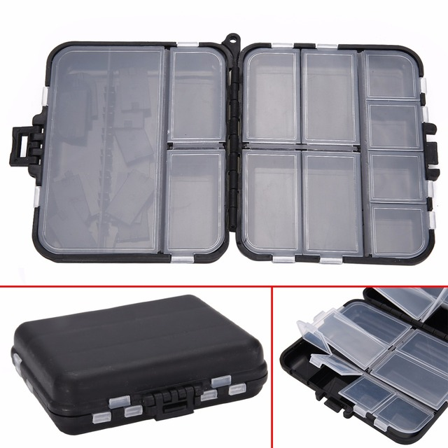Portable Plastic 26 Compartments Fishing Tackle Lure Bait Waterproof  Storage Box Organizer Container Case Fishing Tool