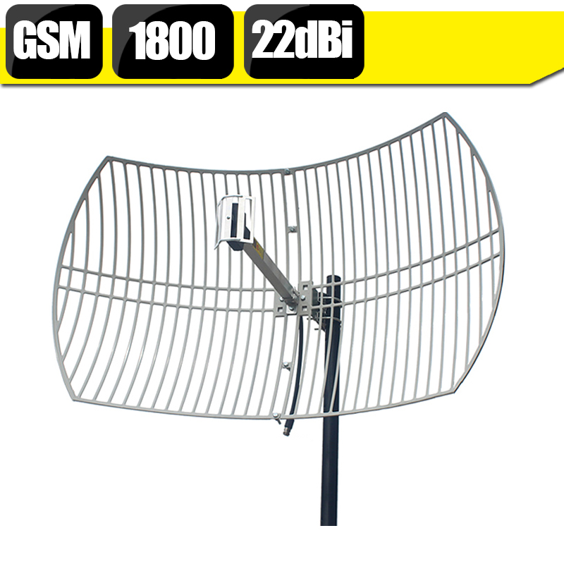 20dBi haut Gain GSM DCS 1800 mhz 4G LTE 1800 antenne de grille externe N antenne extérieure femelle pour répéteur de Signal de téléphone portable