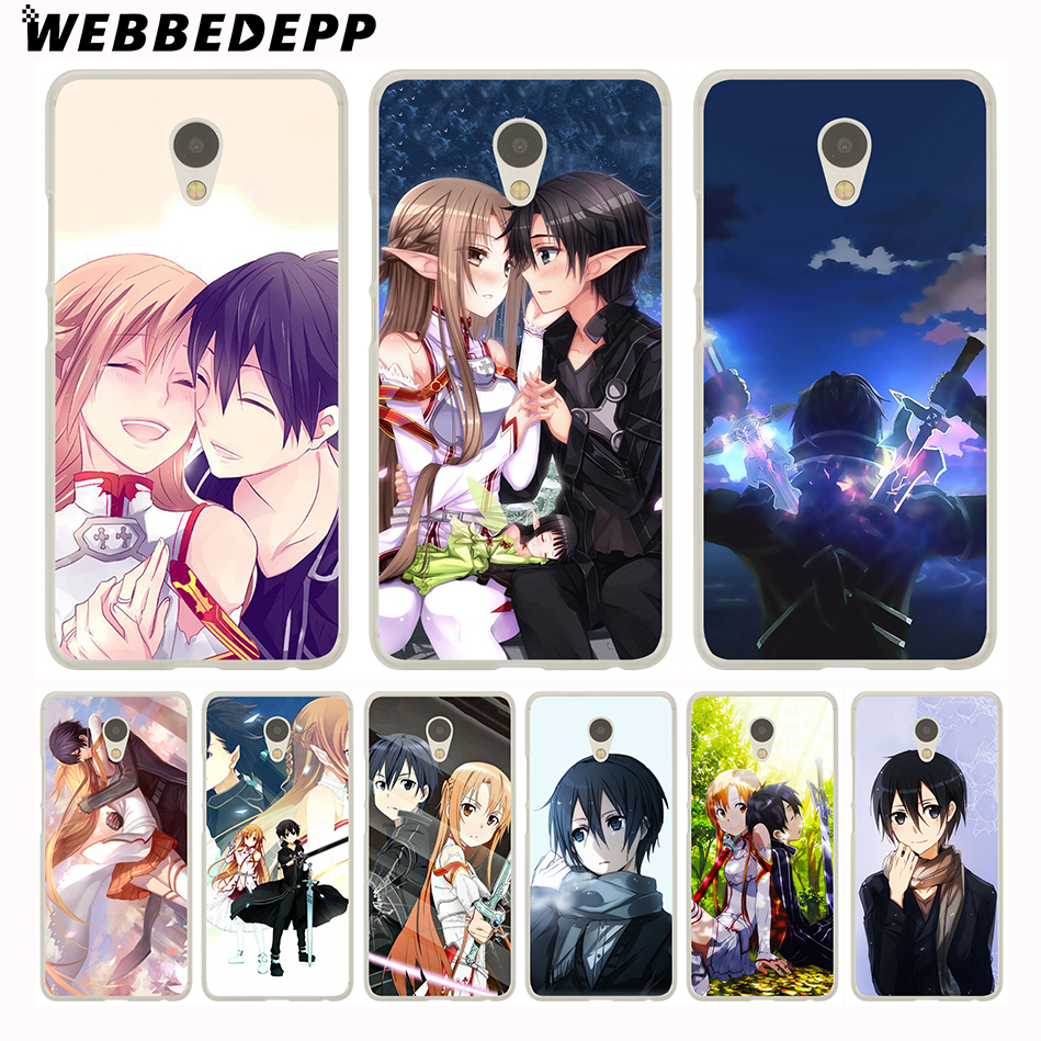 Knowledgeable Webbedepp Sword Art Online Sao Japanese Anime Phone Case For Meizu M6 M5 M3 Note M6s M5s M5c M3s Mini Cover Phone Bags & Cases